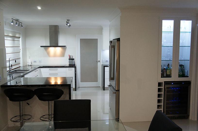 Mini Bar Area - New Kitchens Brisbane