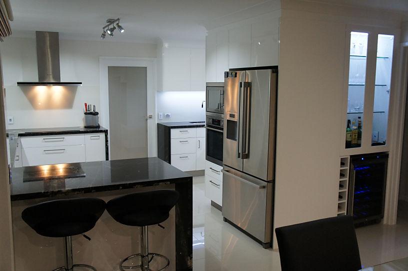 Full View of Kitchen Renovation Brisbane