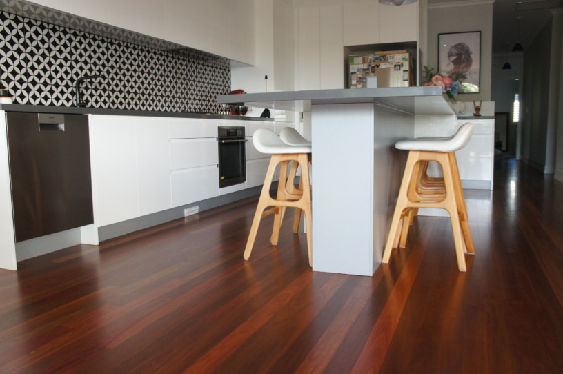 Island Bench Seating Kitchen Renovation Brisbane