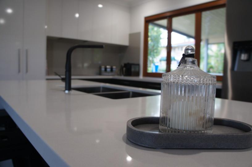 Black Tapware Kitchens Brisbane