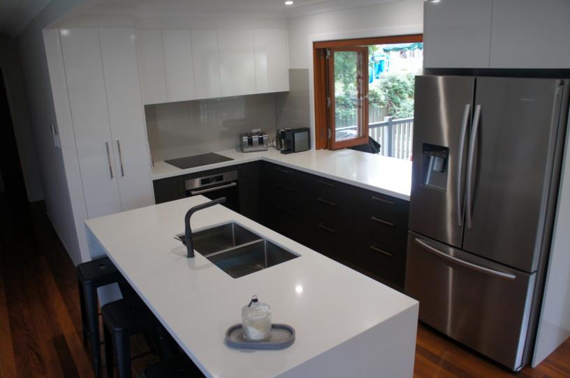 Undermount Sink in Island Benchtop - Brisbane Kitchens