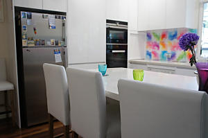 Brisbane Kitchens-Splash of Colour