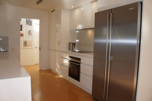 Brisbane Kitchens-Handleless Galley