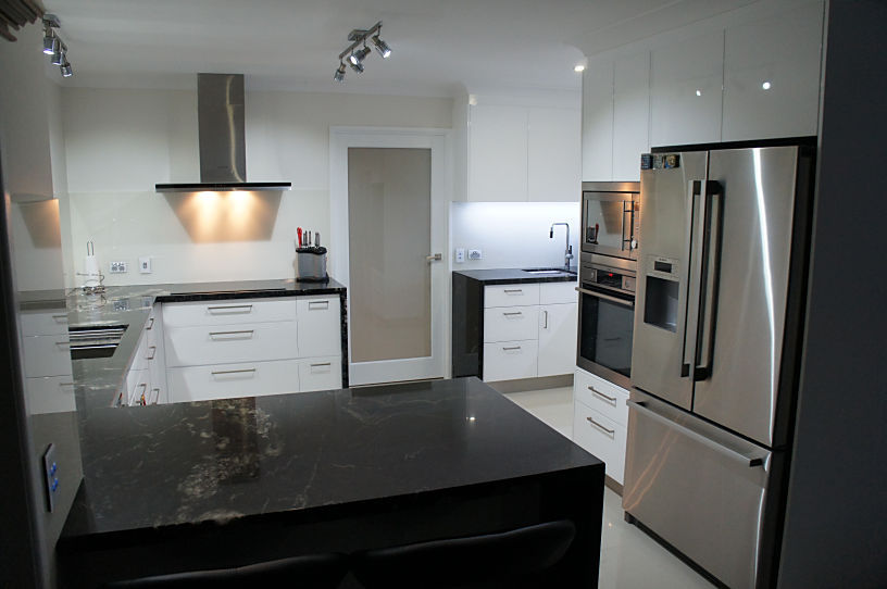Black Granite - New Kitchens Brisbane