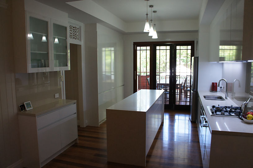 Brisbane Kitchens - Compact Galley