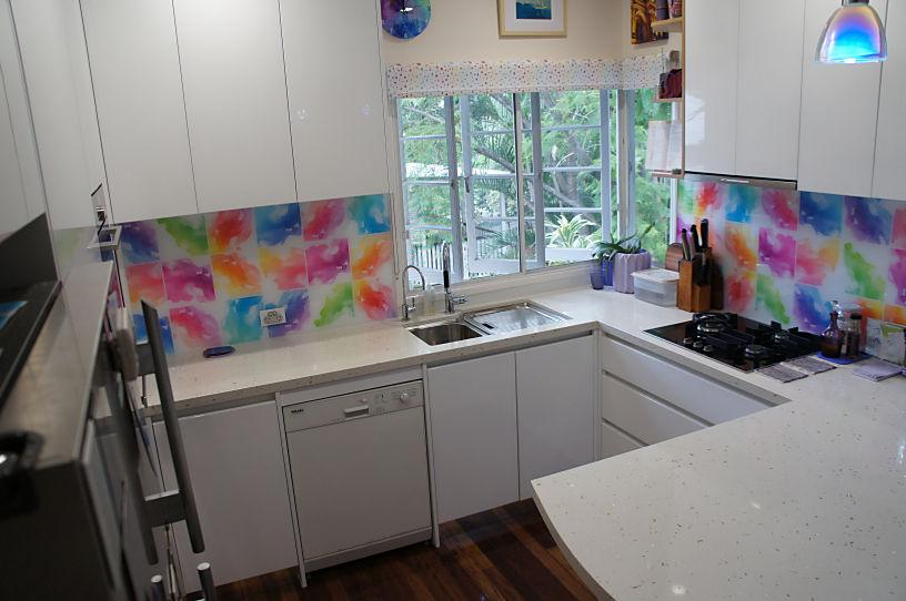 Brisbane Kitchens-Splash of Colour