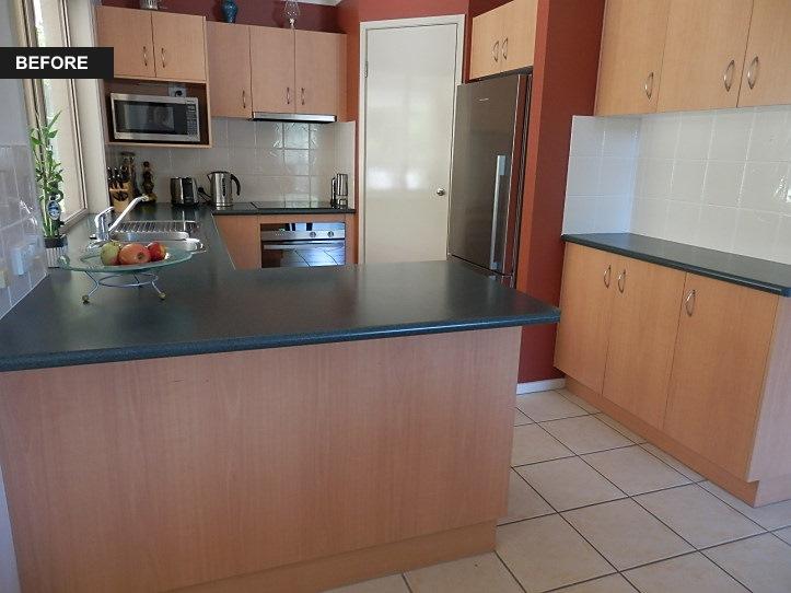 Brisbane Kitchens-Versatile Solution-Before Photo