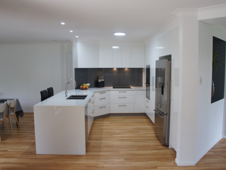 Angled Cabinetry Brisbane Kitchens