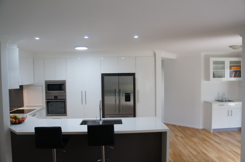 Wide Angle View of Complete Kitchen Brisbane