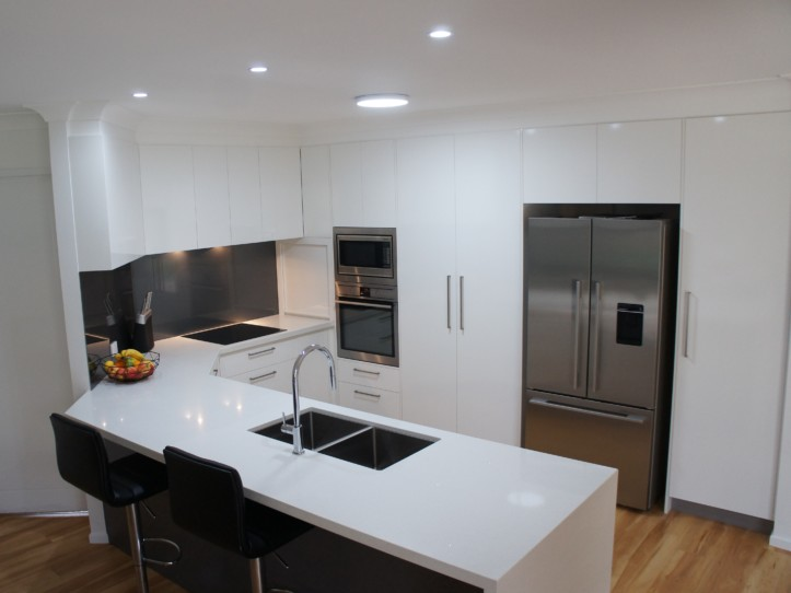 Gloss Cabinetry New Kitchen Designs Brisbane