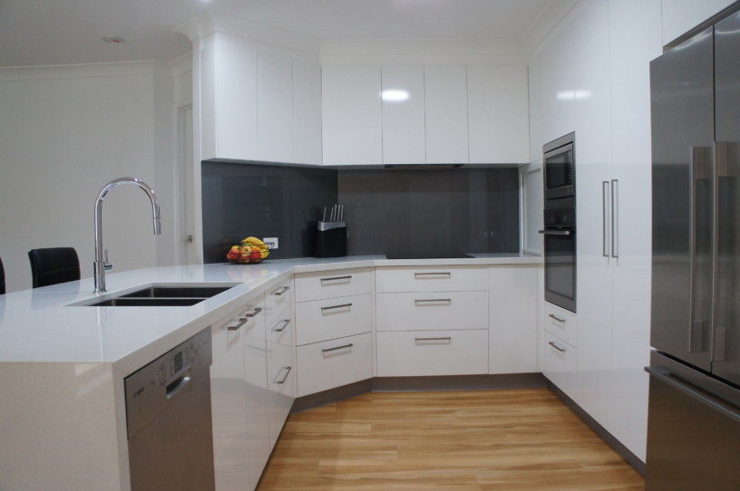 Subtle angles new kitchens brisbane Kitchen design centre brisbane