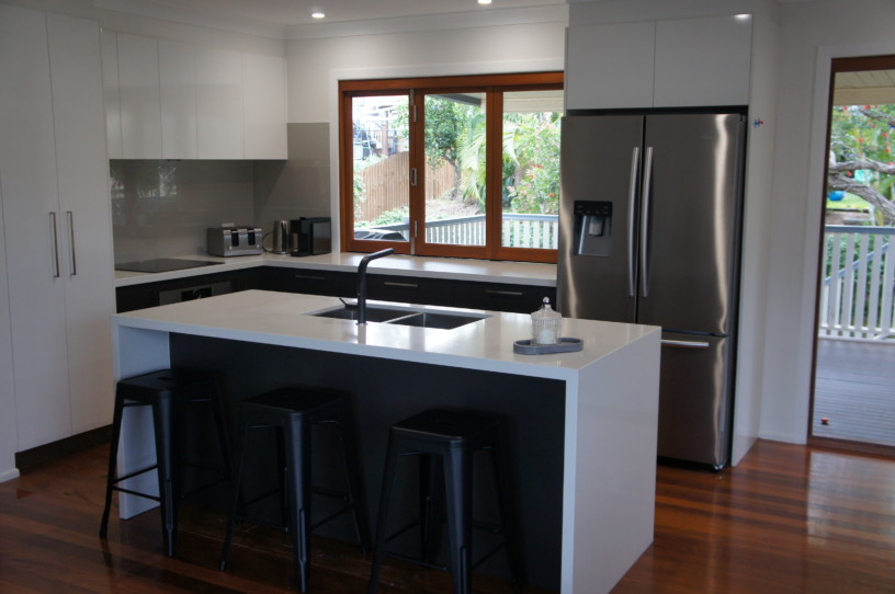 Full View of Kitchen Renovation Brisbane