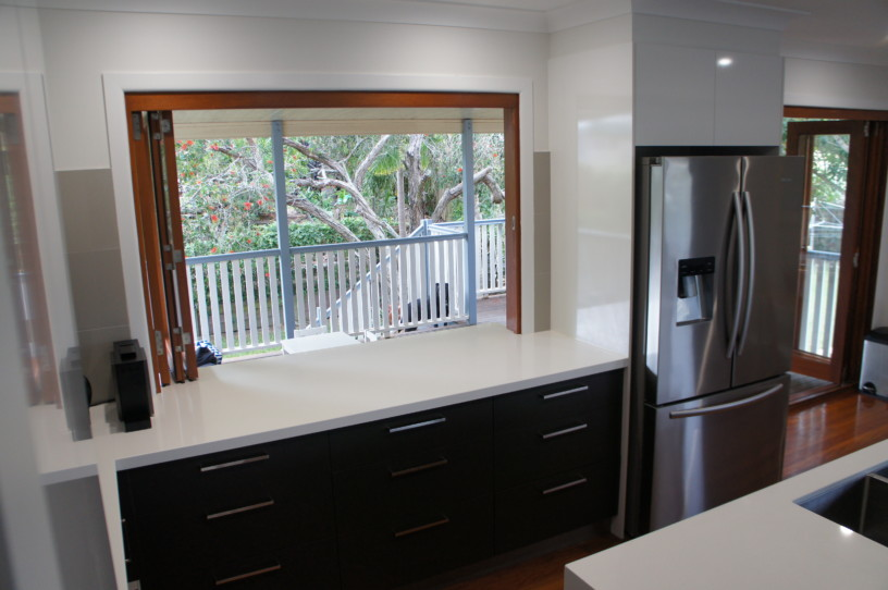Servery Benchtop Counter - New Kitchen Design Brisbane