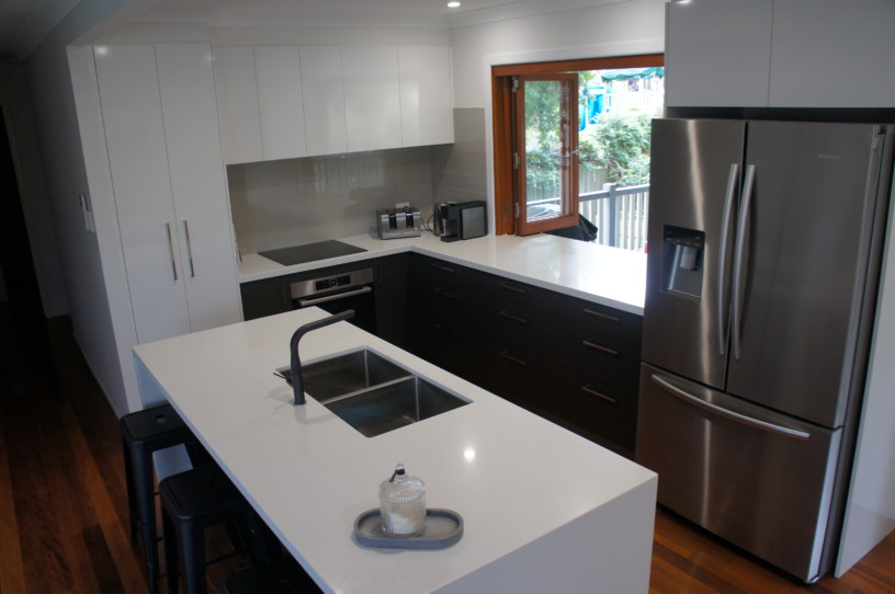 Undermount Sink in Island Benchtop - Brisbane Kitchens