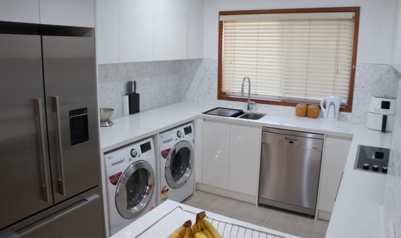 Brisbane Kitchens-Integrated Laundry