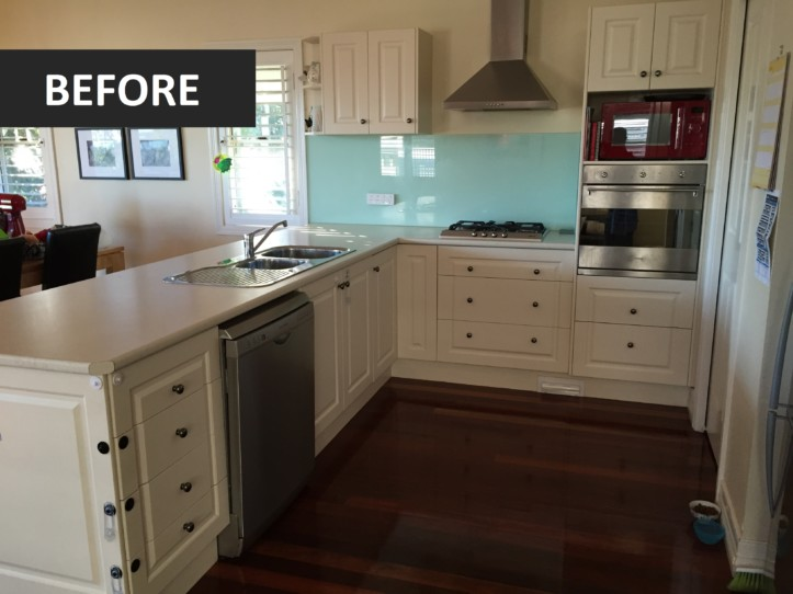 Brisbane Kitchens-Contemporary Elegance-Before