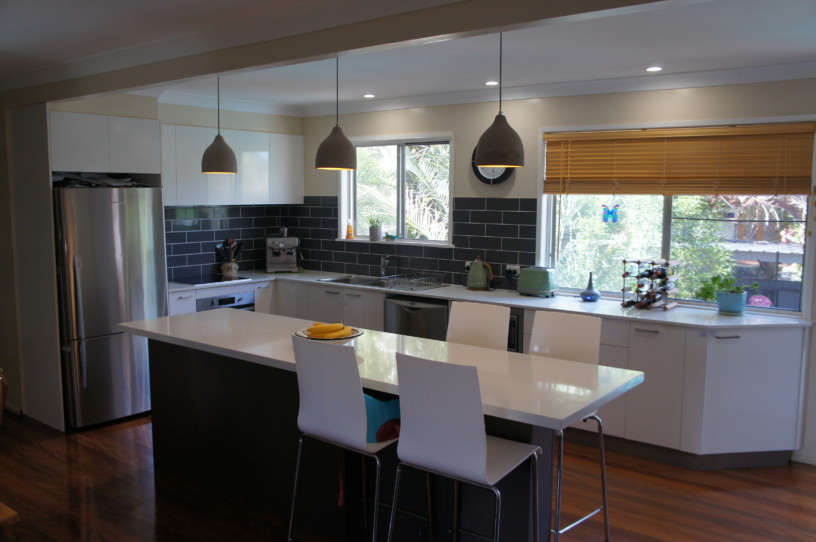 Brisbane Kitchens-Large Island Counter