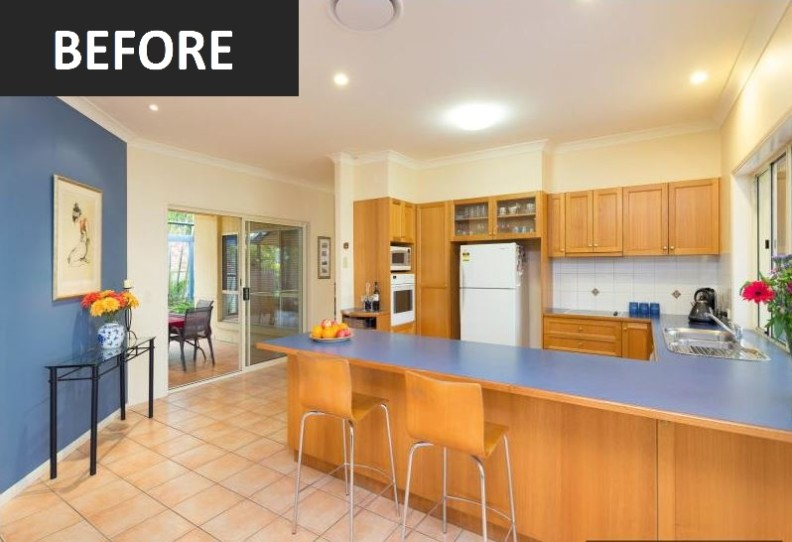 Brisbane Kitchens-Before Photo