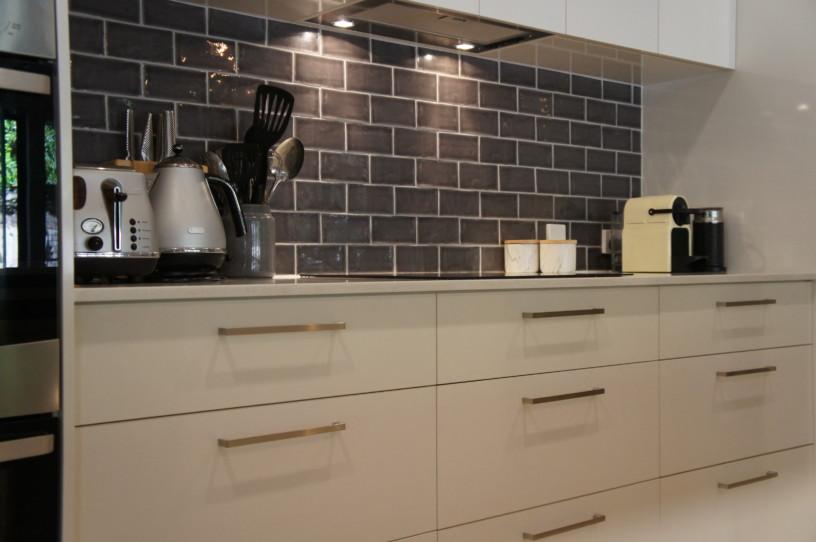 Brisbane Kitchens-Refreshed Galley Kitchen