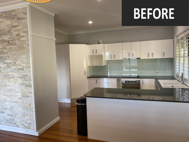 Open Plan Living-Brisbane Kitchens-Before